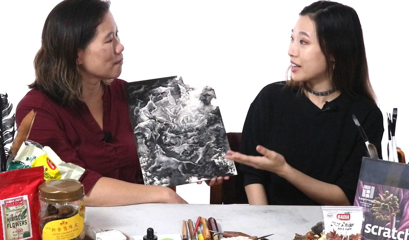Song Kang, RISD Adjunct Professor Clara Lieu