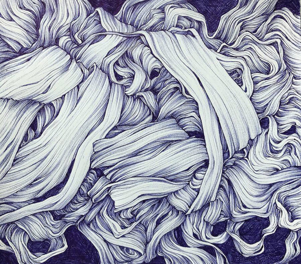 Ballpoint Pen Drawing, Amelia Rozear
