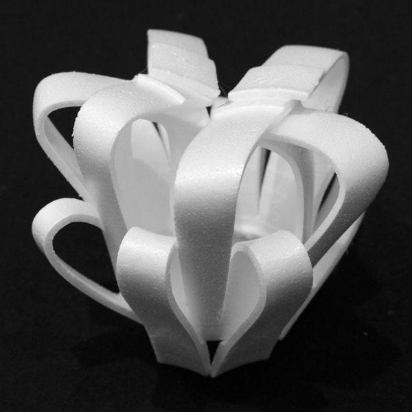Styrofoam Cup Sculpture