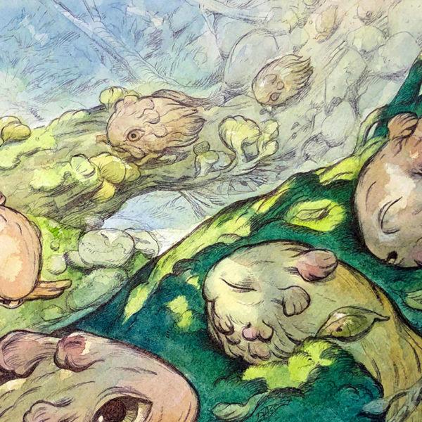Imaginary Environment Drawing, Julie Benbassat