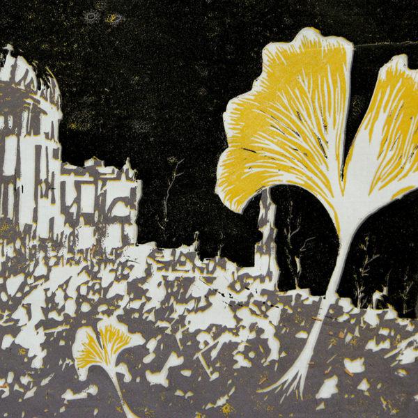 Editorial Illustration, Linoleum Block Printmaking