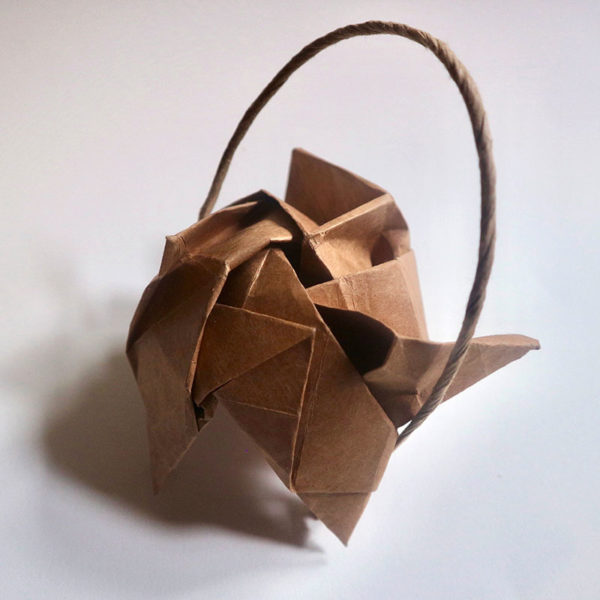 Paper Bag Sculpture, Darinka Arones