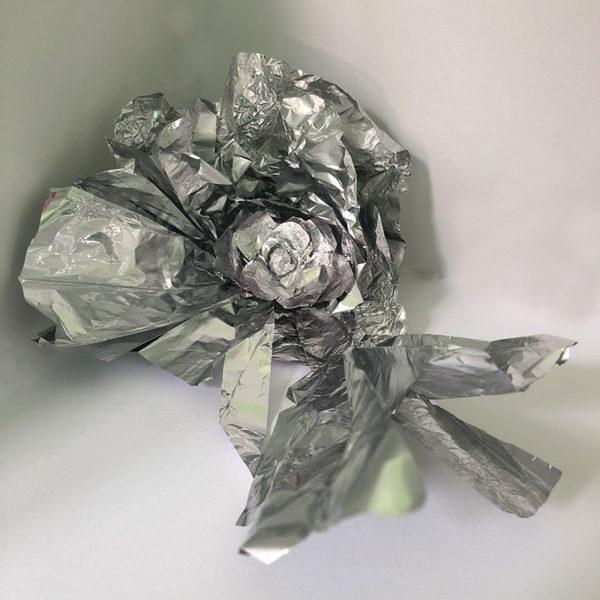Aluminum Foil Sculpture, Hema Somaya