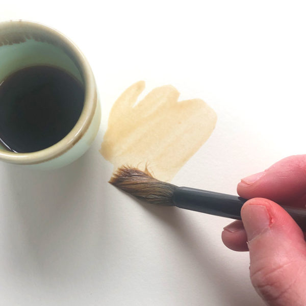 Painting with Soy Sauce