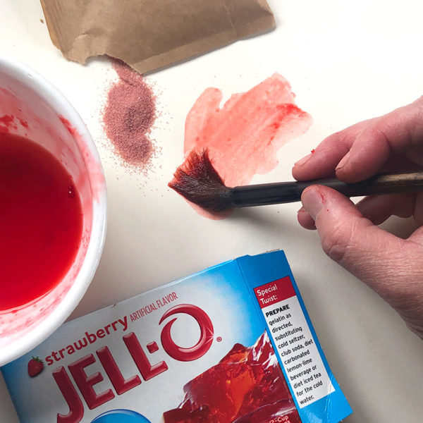 Painting with Jello