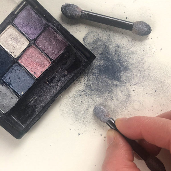 Home Art Supplies: Eye Shadow