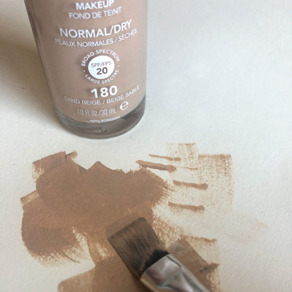 Home Art Supplies: Foundation Makeup