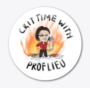 Crit Time Sticker