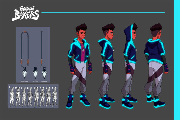 Character Design, Jordan McCracken-Foster