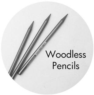 Art Prof, Art Supply Encyclopedia: Woodless Pencils