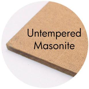 Art Prof, Art Supply Encyclopedia: Untempered Masonite
