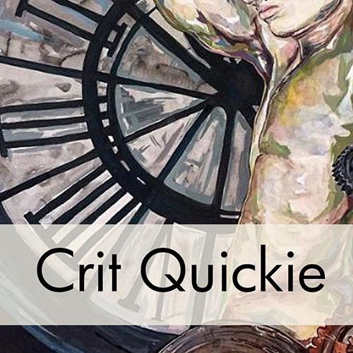 Art Critique: Gouache and Acrylic Painting Portrait