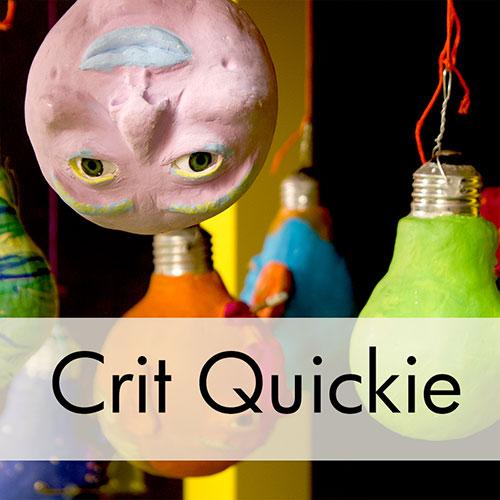 Art Critique: Mixed Media Sculpture with Portraits