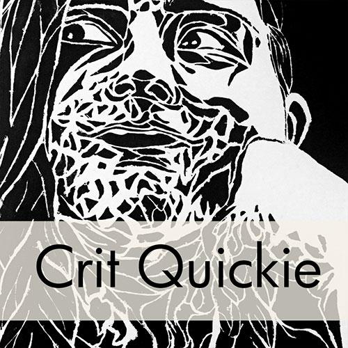 Art Critique: Linoleum Block Print Portrait