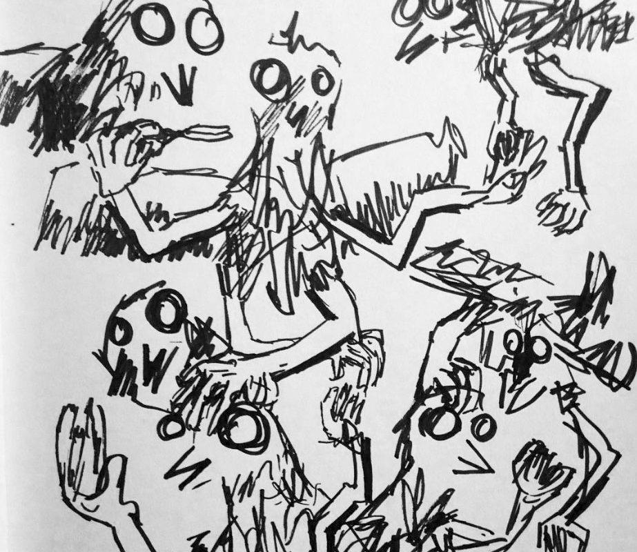 Sketch by Caffrey Fielding