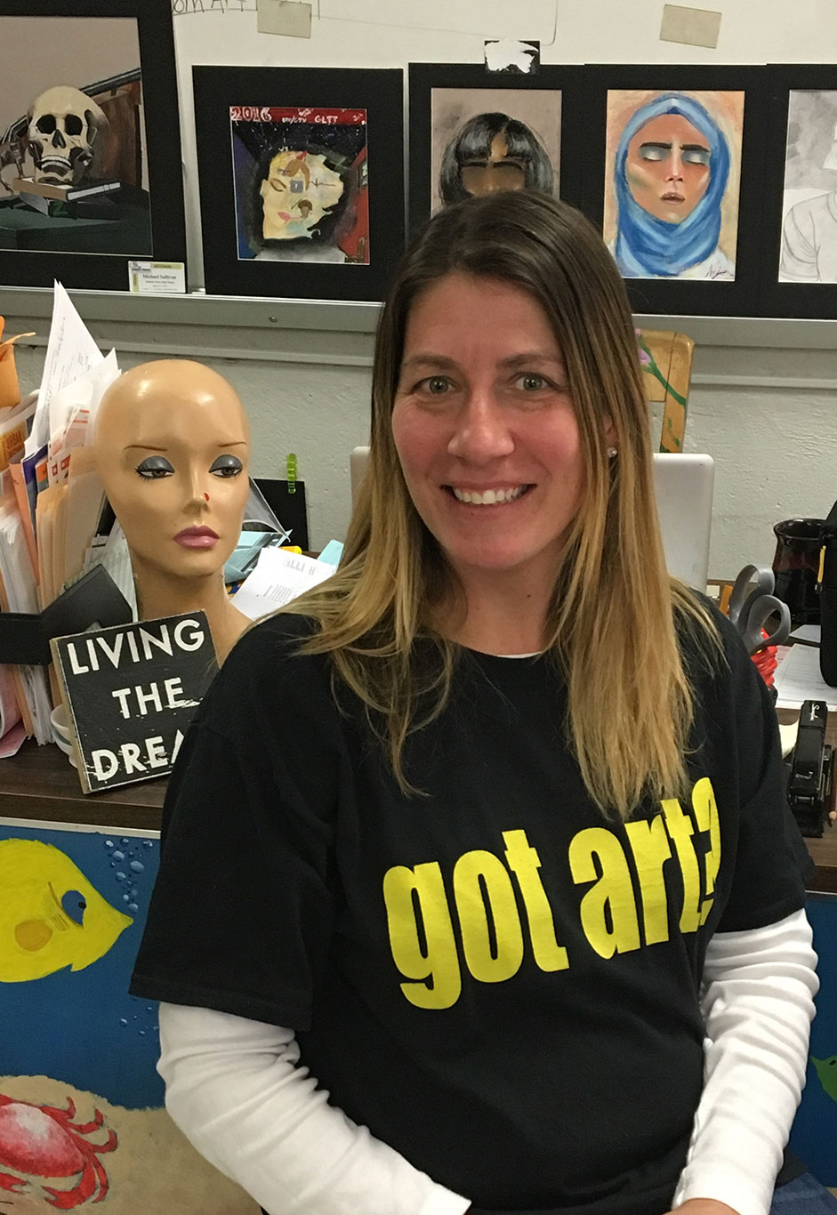 Art Teacher Meredith Healy Kurz