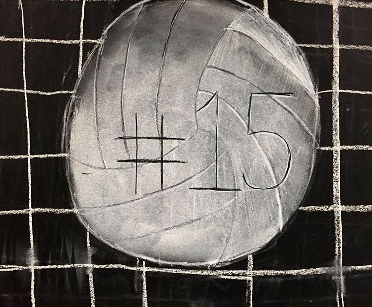 Charcoal Drawing by El Haynes High School Student