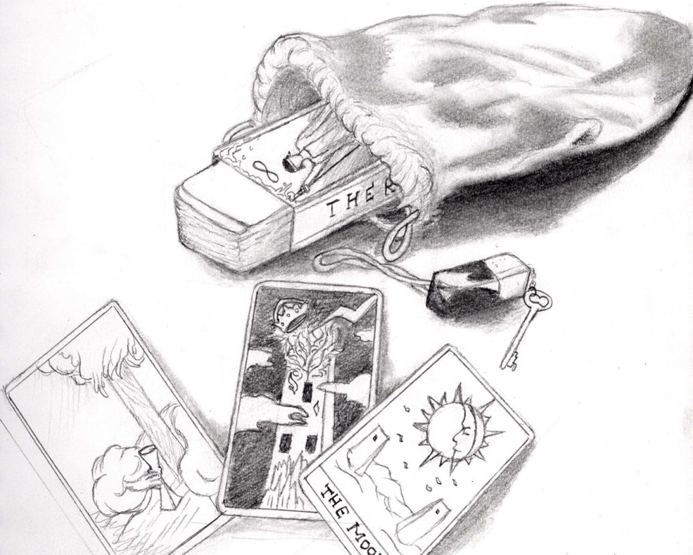 Pencil Drawing by High School Art Student at the Victoria School