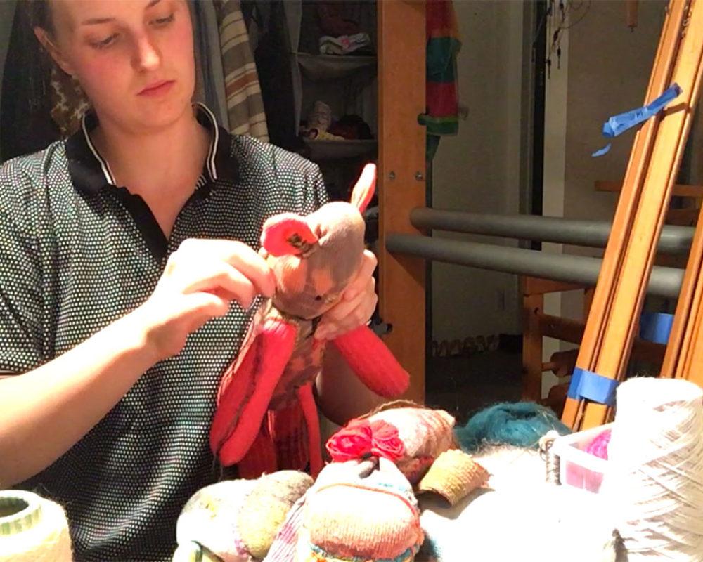 Annie Irwin, Weaver, Painter, Textiles Artist