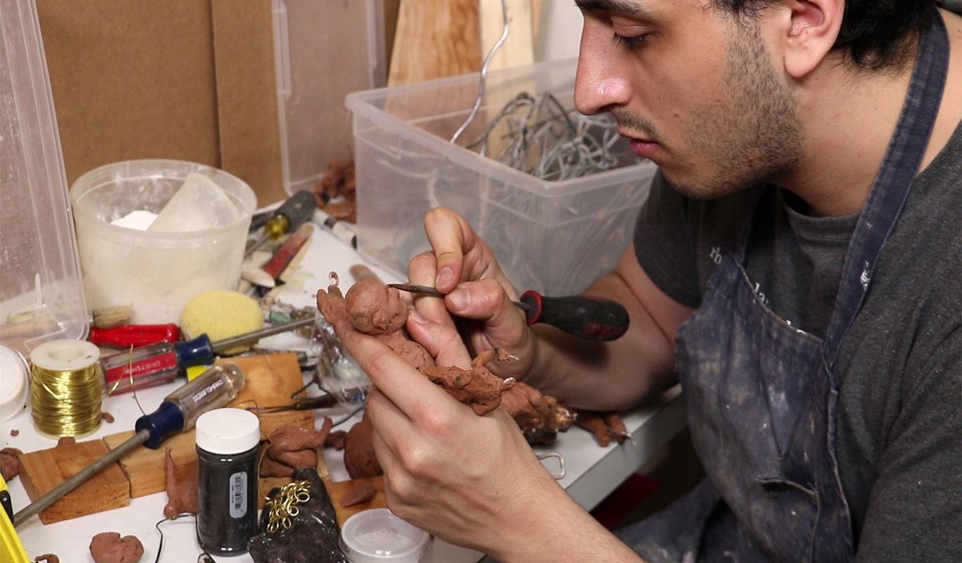 Yves-Olivier Mandereau, Ceramic Artist