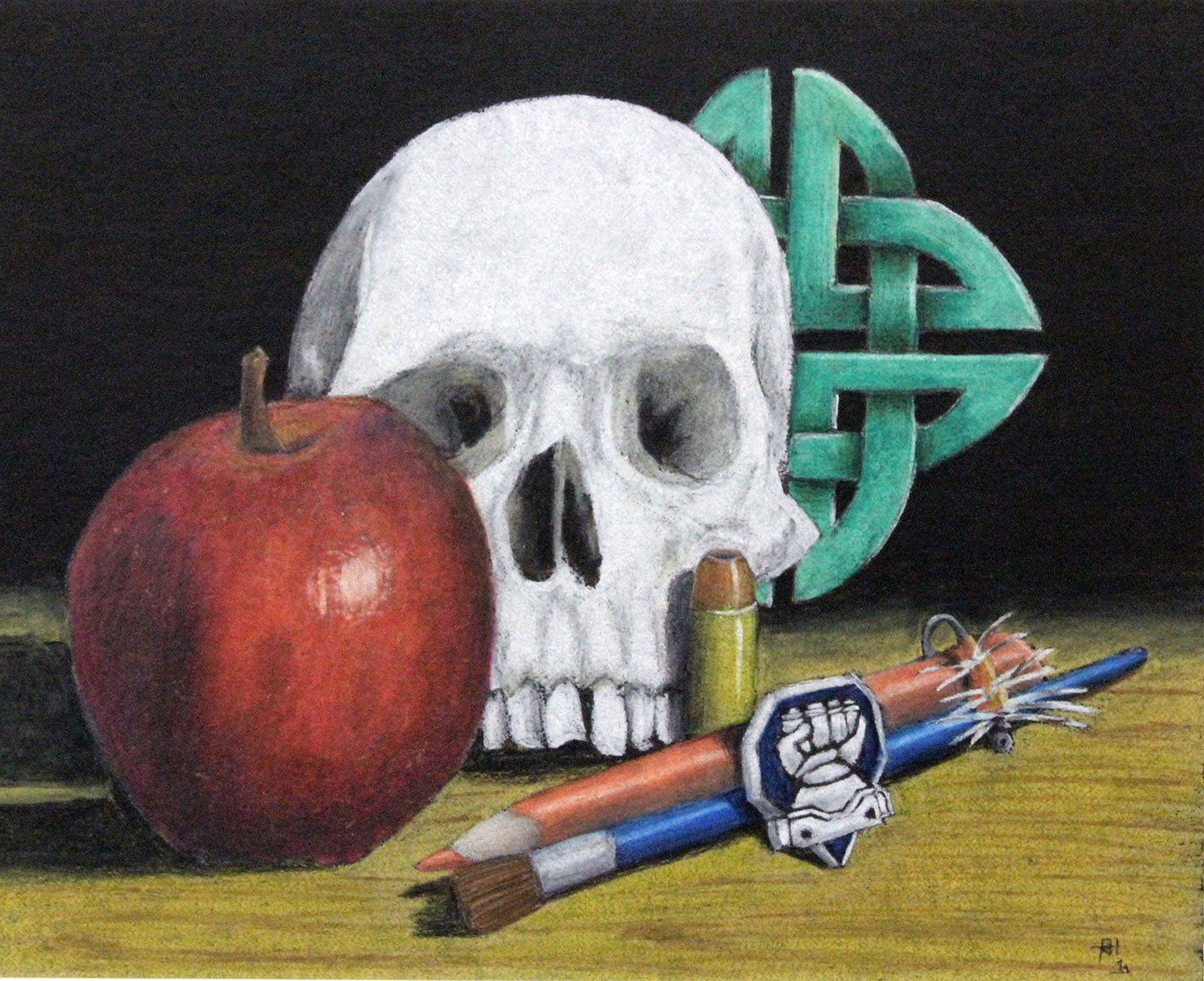Still Life Drawing by Ross Hines