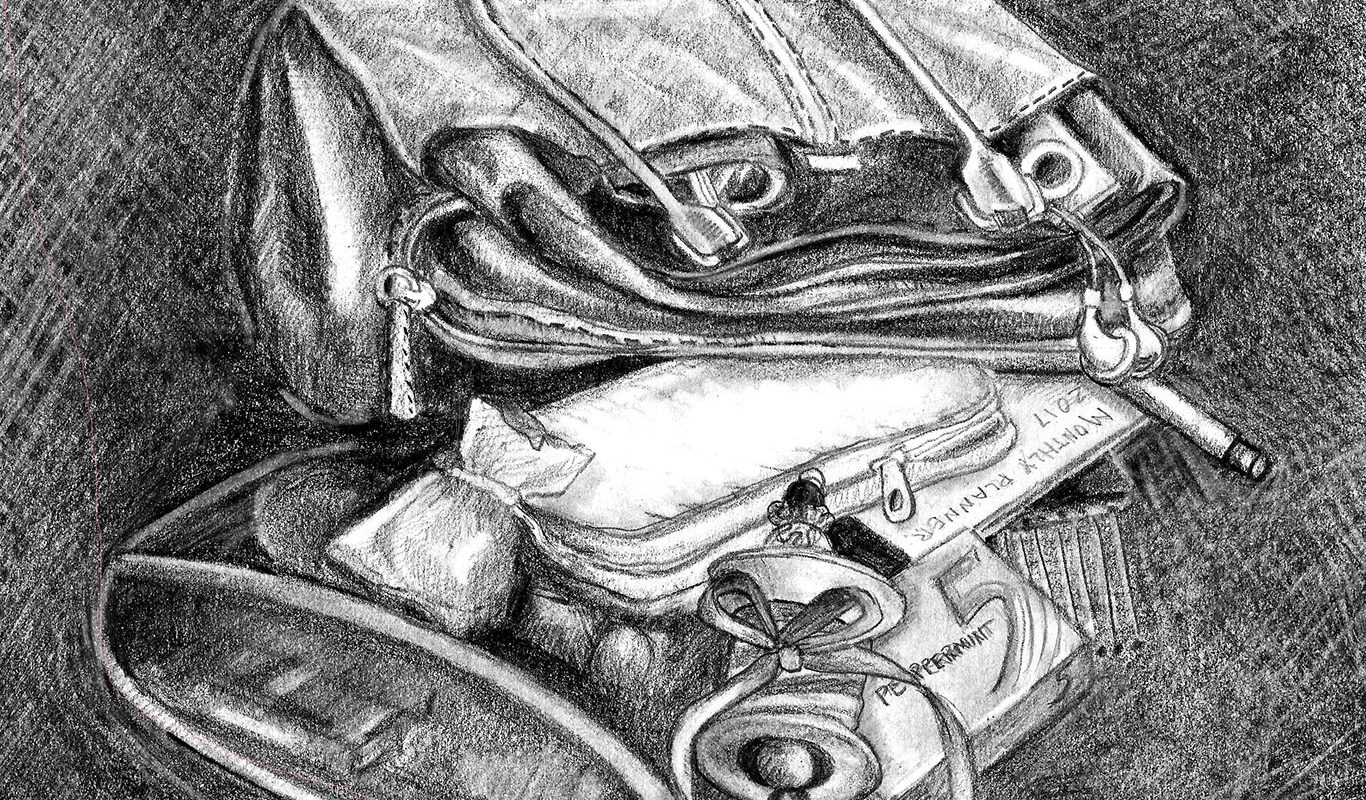 Pencil Drawing by Claudia Simes