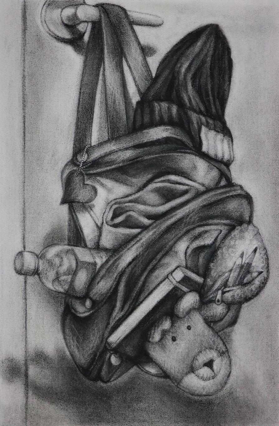 Charcoal Drawing by Hyeji Kim