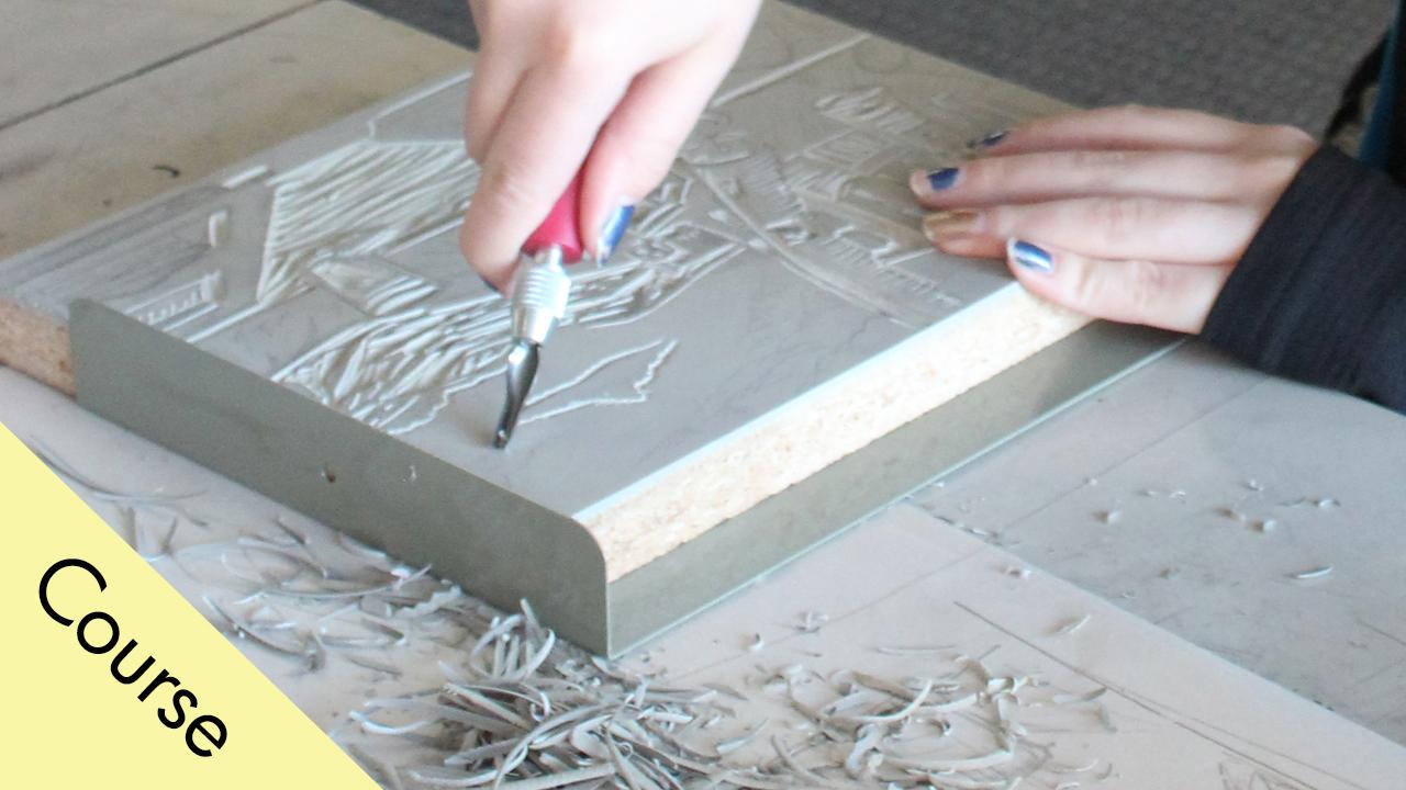 Linoleum Block Printmaking