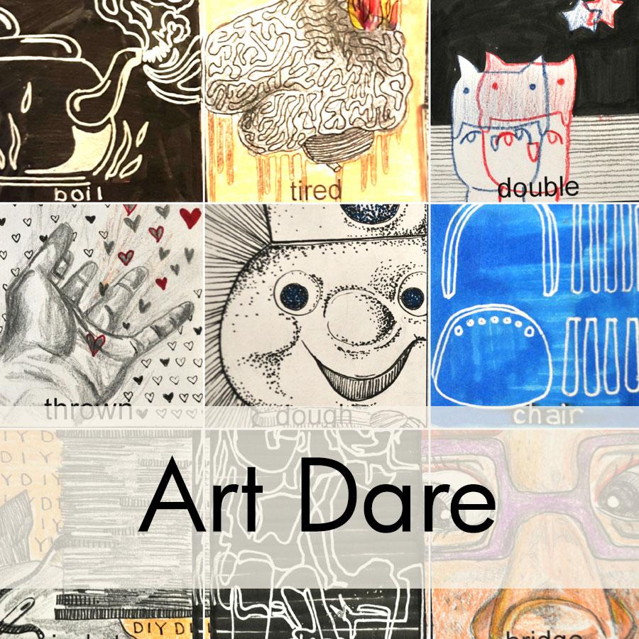 2017 February Art Dare