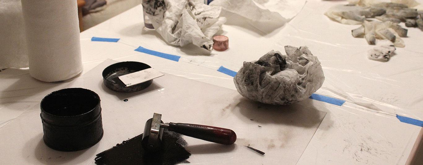Intaglio Printmaking: Mezzotints