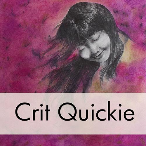Art Critique: Mixed Media Portrait Drawing