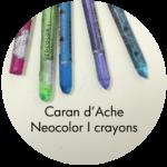 Art Supplies: Caran d'Ache Neocolor I Crayons