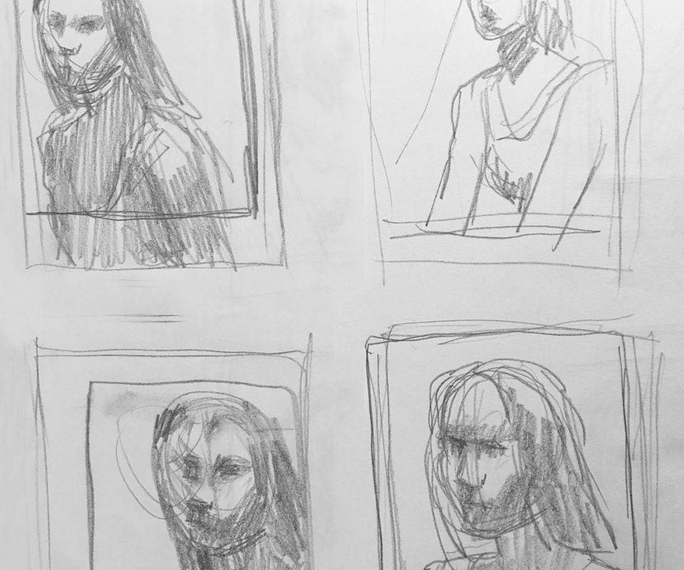 Thumbnail Sketches, Catherine Huang