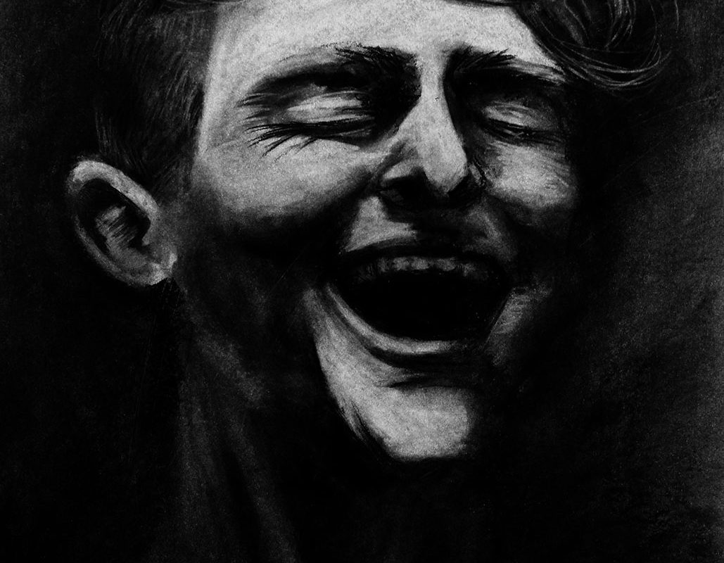 Charcoal Drawing by Ben Sampson