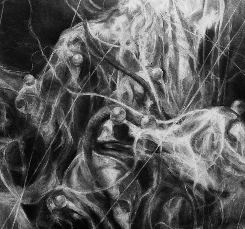 Charcoal Drawing by Joanne Jee Hyun Han
