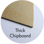 Art Supplies: Thick Chipboard