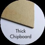 Art Supplies: Thick Chipboard