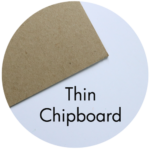 Art Supplies: Thin Chipboard
