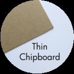 Art Supplies: Thin Chipboard
