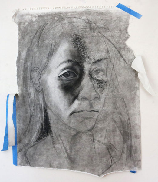 Student Charcoal Drawing