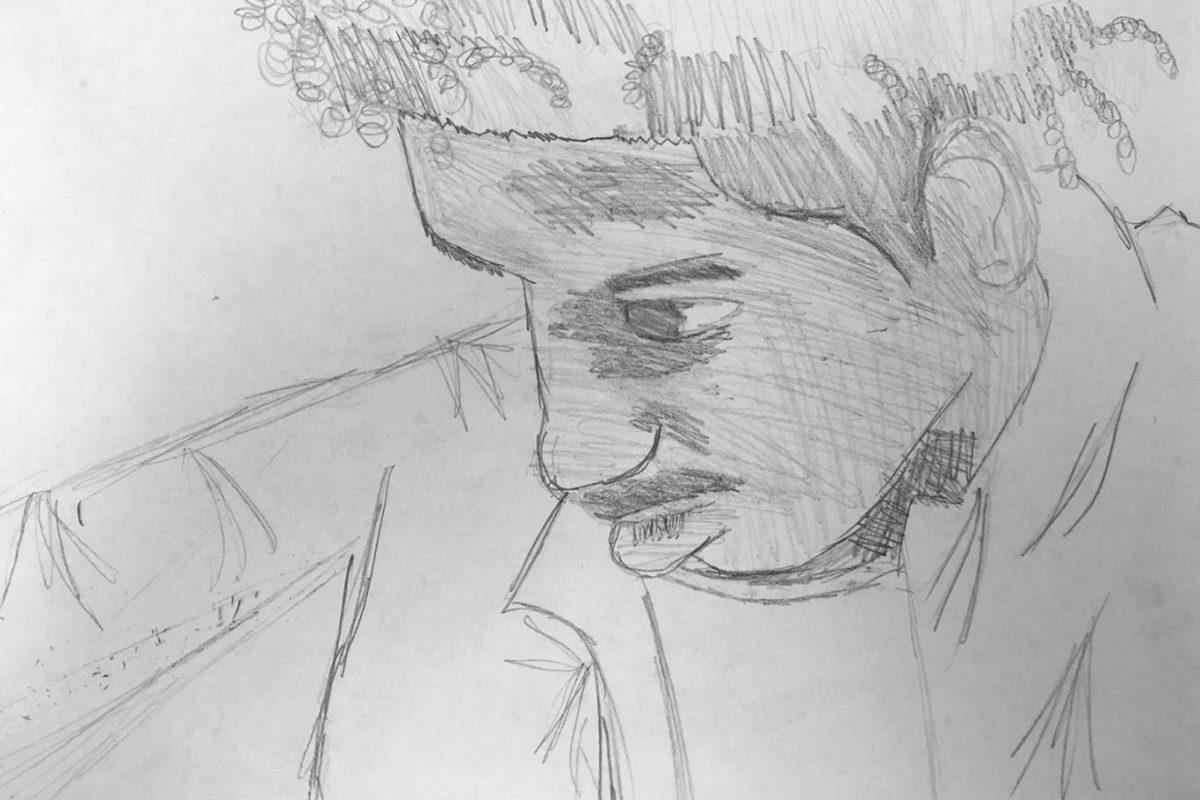 Pencil Drawing by El Haynes High School Art Student