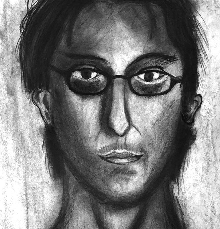 Charcoal Drawing by El Haynes High School Art Student
