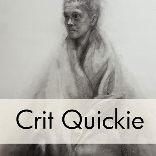 Art Critique: Portrait Charcoal Drawing