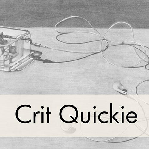 Art Critique: Pencil Drawing of Headphones