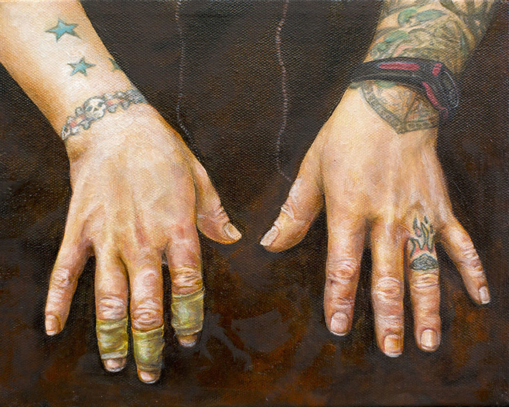 Oil Painting by Chelsea Burns