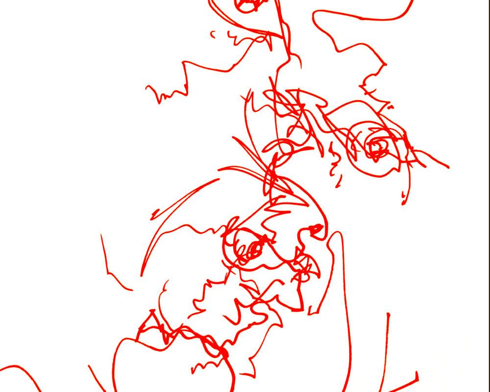Sharpie Marker Drawing