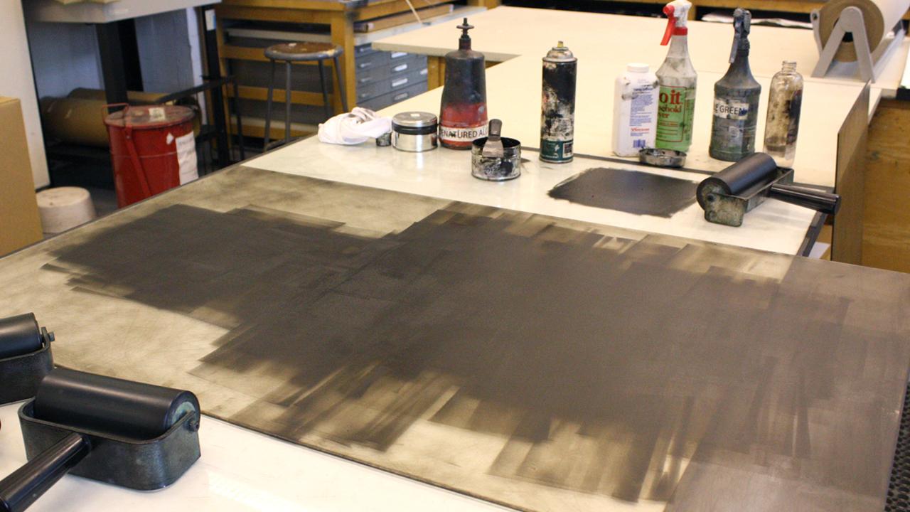 Printmaking Studio: Monotype