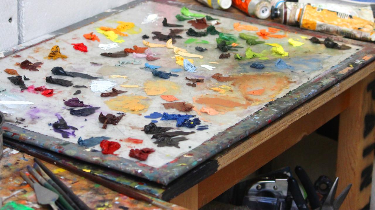 Art School Painting Studio