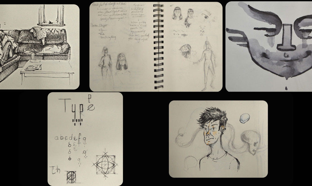 Art School Admissions Portfolio, Jeff Katz