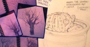 Sketchbook Drawings by Natalie Linn